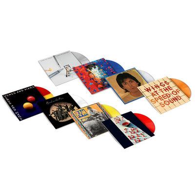 Paul McCartney: Exclusive Colour Vinyl Bundle