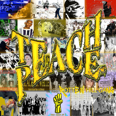 Rotten Hill Gang: Teach Peace: Signed