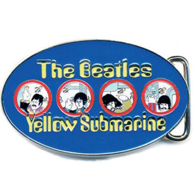 The Beatles: Yellow Sub Portholes (Blue) Buckle