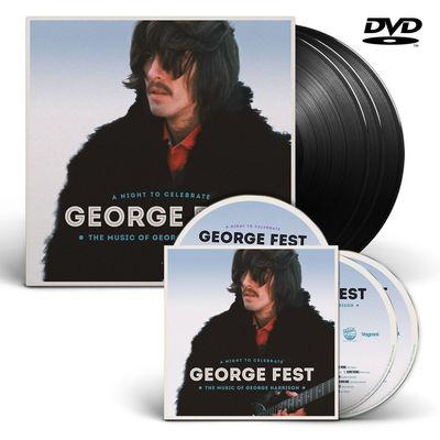 George Harrison: George Fest Triple Vinyl, 2CD/DVD Bundle