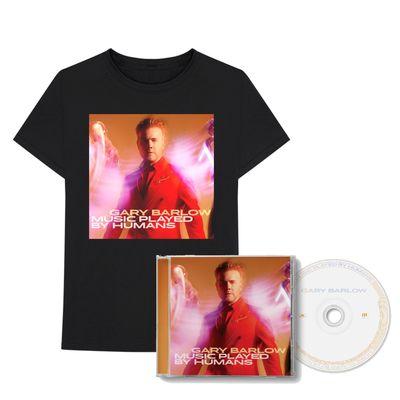 Gary Barlow: Music Played By Humans CD & T-Shirt