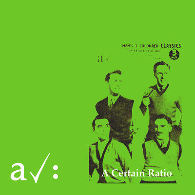 A Certain Ratio: The Graveyard And The Ballroom: Limited Edition PVC Sleeve