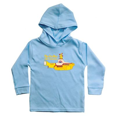 The Beatles: Yellow Submarine Hooded Long sleeve Blue