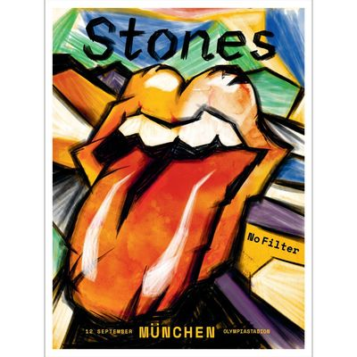 The Rolling Stones: Munich Print