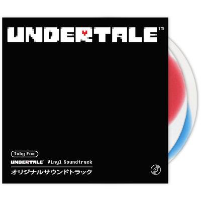 Toby Fox: Undertale: Japan Edition (translucent colour-in-colour vinyl)