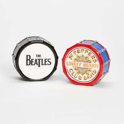 Abbey Road Studios: The Beatles Sgt Pepper Drum Salt and Pepper Shaker Set