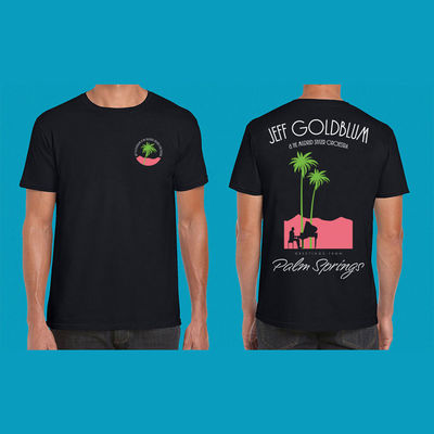 Jeff Goldblum And The Mildred Snitzer Orchestra: Palm Springs Nightime T-shirt