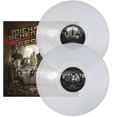 Michael Schenker Fest: Resurrection Limited Edition Clear Coloured Vinyl