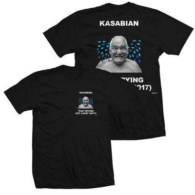 Kasabian: Album Cover T-Shirt Black