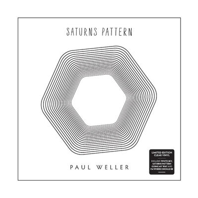 Paul Weller: Saturns Pattern: Clear Vinyl