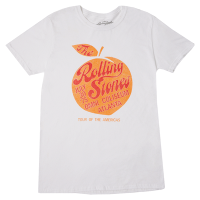 The Rolling Stones: Atlanta '75 Tour T-Shirt