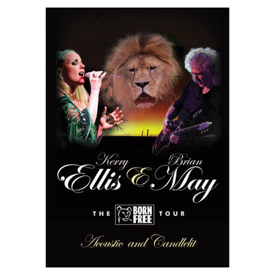 Brian May + Kerry Ellis: Born Free Tour Programme