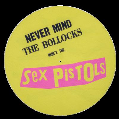 Sex Pistols: Never Mind The Bollocks Slipmat