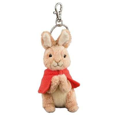 Peter Rabbit: Flopsy 10cm Soft Toy Keyring