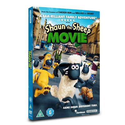 Shaun the Sheep: Shaun The Sheep Movie DVD