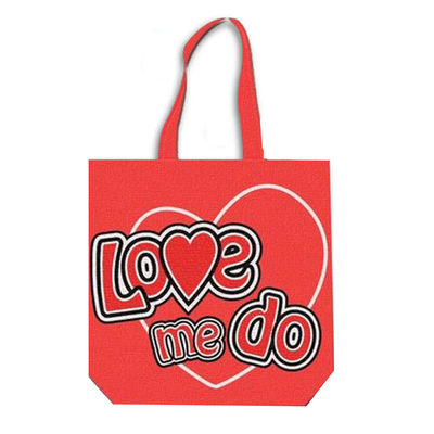 The Beatles: Love Me Do Cotton Tote Bag (Zip Top)