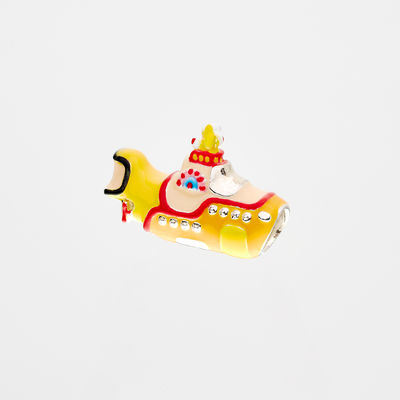 Abbey Road Studios: The Beatles Yellow Submarine Sterling Silver Charm Bead