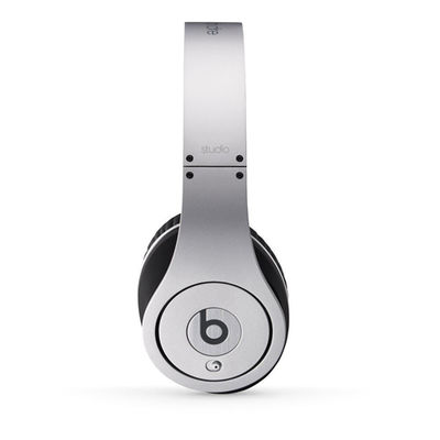 Beats: Studio On-Ear Headphones - Silver