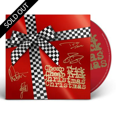 Cheap Trick: Christmas Christmas: Limited Edition Signed CD