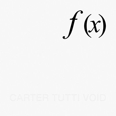 Carter Tutti Void: f (x): White Vinyl