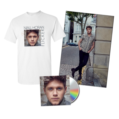 Niall Horan: Deluxe CD, Album T-Shirt, Poster & 3 IG Tracks