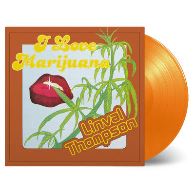 Linval Thompson: I Love Marijuana: Orange Vinyl