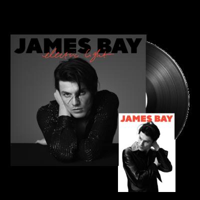 james bay: Electric Light Standard LP + Signed Postcard