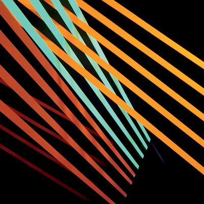 Shit Robot: What Follows: Green and Orange Vinyl