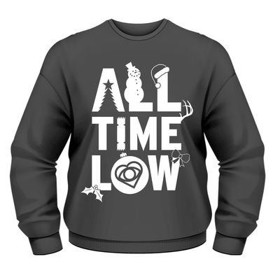 All Time Low: Christmas Logo Sweatshirt
