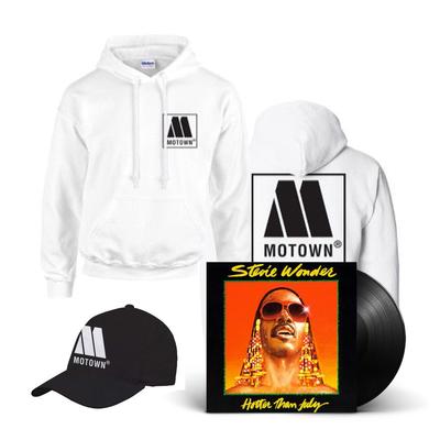 Motown: Hat, Hoodie & Hotter Than July Vinyl