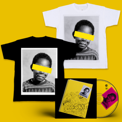 Dizzee Rascal: Raskit Signed CD + Face T-Shirt