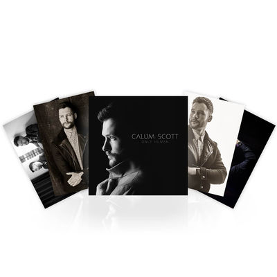 Calum Scott: SIGNED CD & 4 x Photo Prints & a personally handwritten note