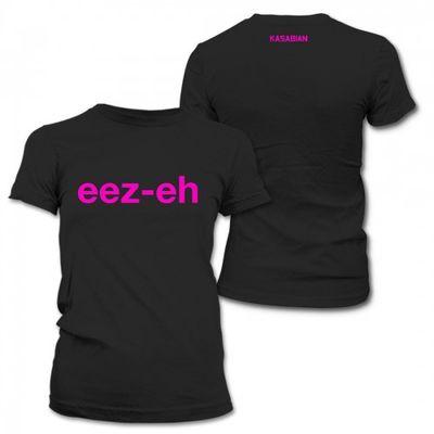 Kasabian: Kasabian eez-eh Girl t-shirt