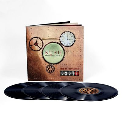 Rush: Time Machine 2011: Live in Cleveland Vinyl Boxset