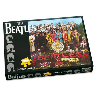 The Beatles: Sgt Pepper 1000pc Jigsaw puzzle