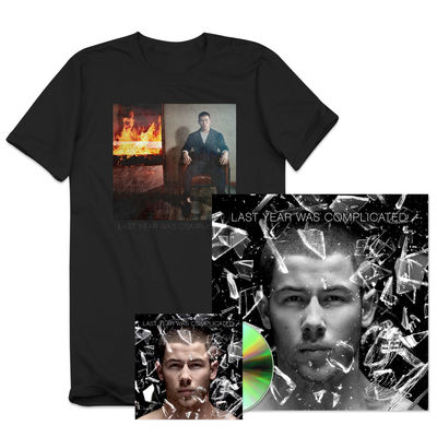 Nick Jonas: Deluxe Bundle (Album + Signed Lithograph + T-shirt)