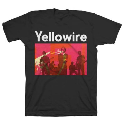 Yellowire: Yellowire Group Black T-Shirt