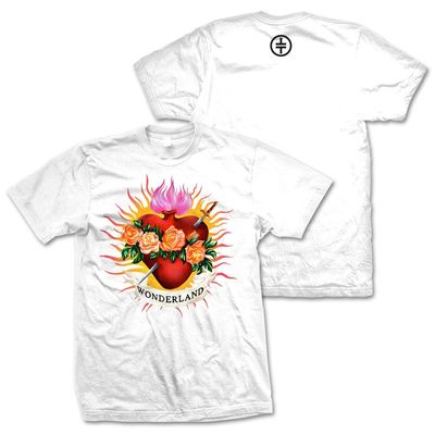 takethat: Flaming Heart T-Shirt