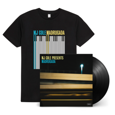 MJ Cole: MJ Cole Presents Madrugada Signed LP and T-shirt Bundle