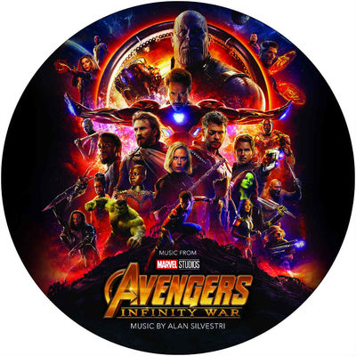 Alan Silverstri: Avengers: Infinity War (Picture Disc)