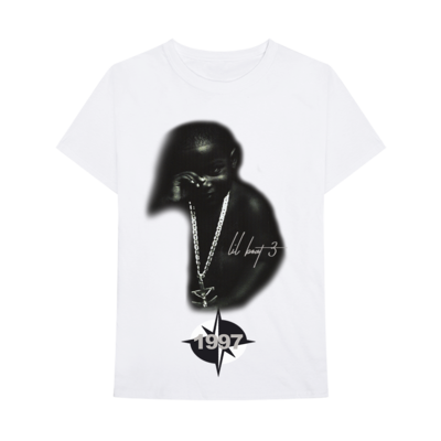 Lil Yachty: LB3 ID 1997 WHITE TEE