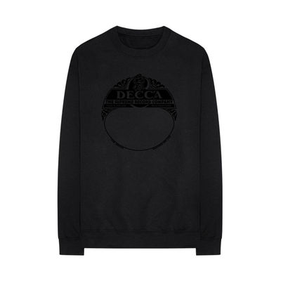 Various Artists: DECCA SUPREME range black sweatshirt