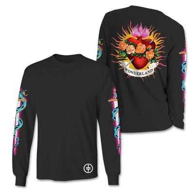 takethat: Flaming Heart Longsleeve