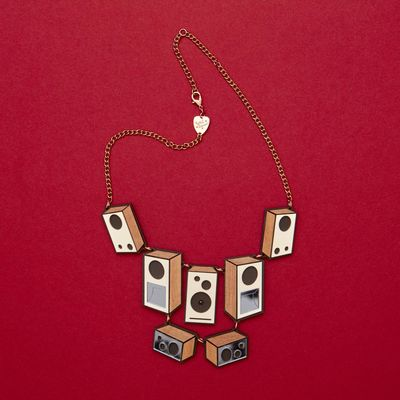 Tatty Devine: Tatty Devine Speaker Stack Necklace