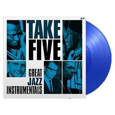 Various Artists: Take Five - Great Jazz Instrumentals Blue Vinyl