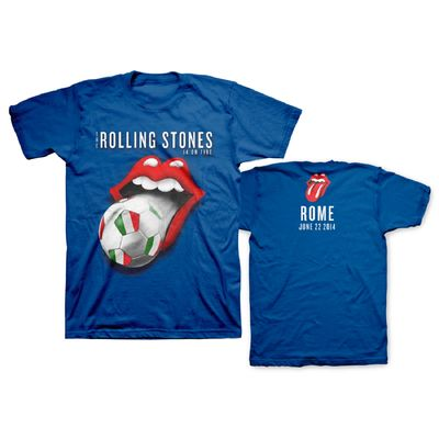 The Rolling Stones: Rome World Cup Limited Edition Event T-Shirt