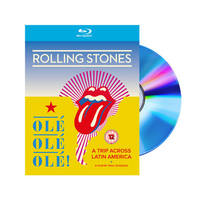 The Rolling Stones: OLÉ OLÉ OLÉ! A Trip Across Latin America Blu Ray