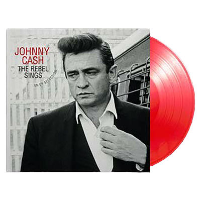 Johnny Cash: Rebel Sings - An EP Selection Red Vinyl