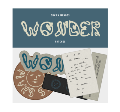 Shawn Mendes: WONDER PATCH SET