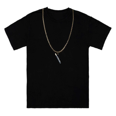The Streets: Chain Black Tee